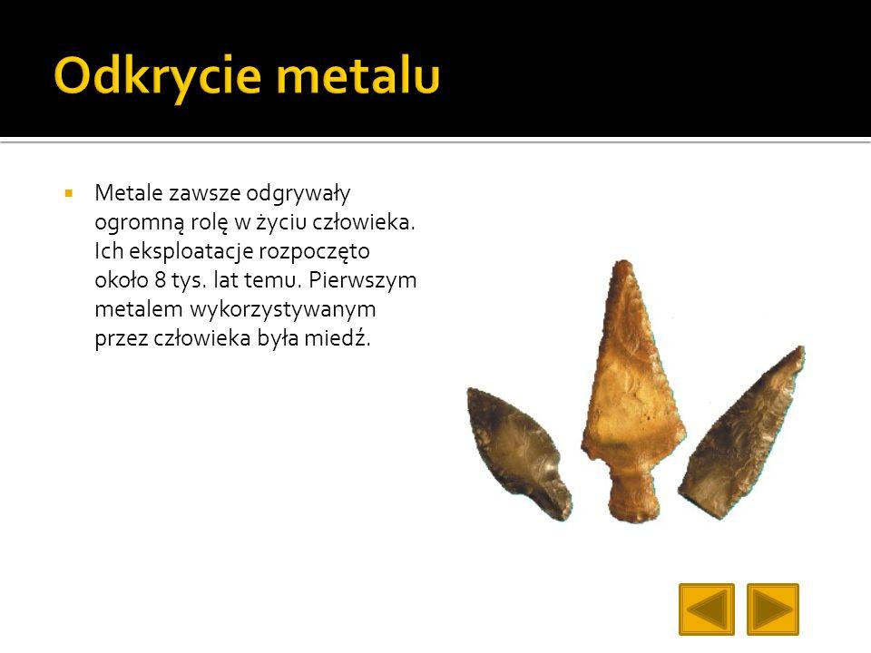 Odkrycie metalu