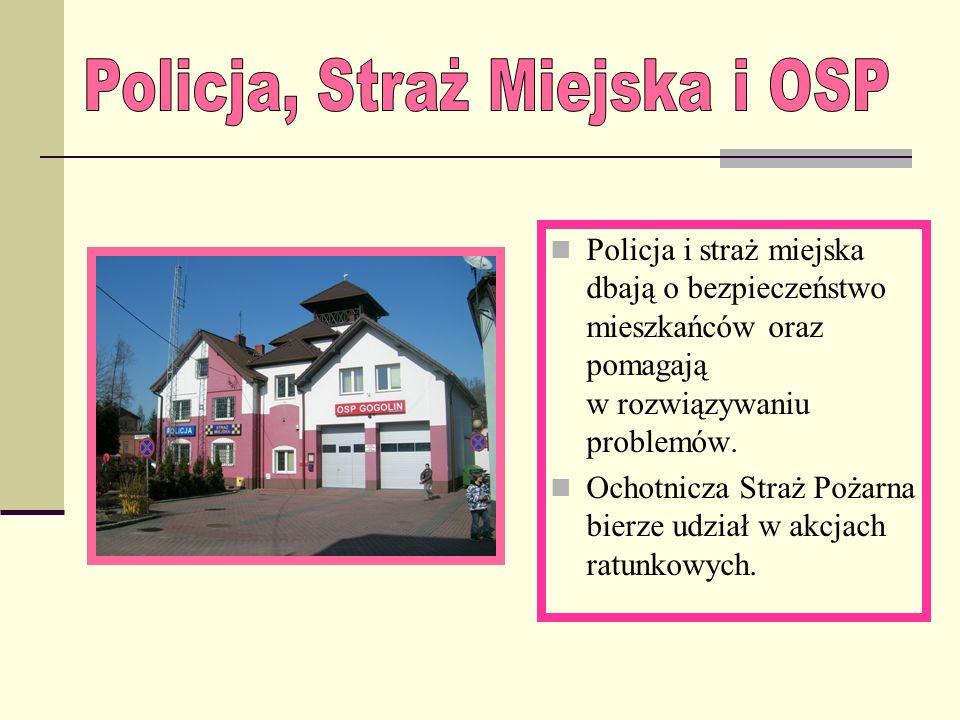 Policja, Straż Miejska i OSP