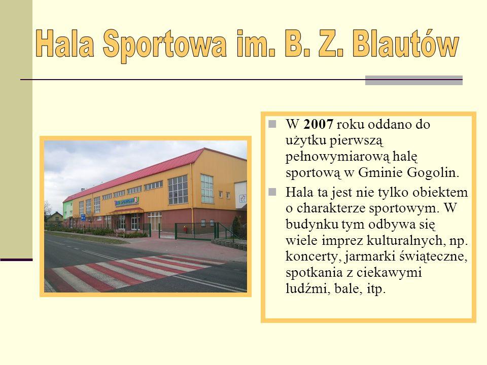 Hala Sportowa im. B. Z. Blautów