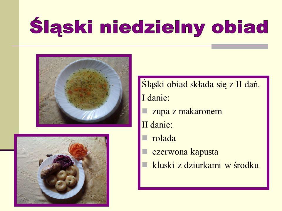 Śląski niedzielny obiad