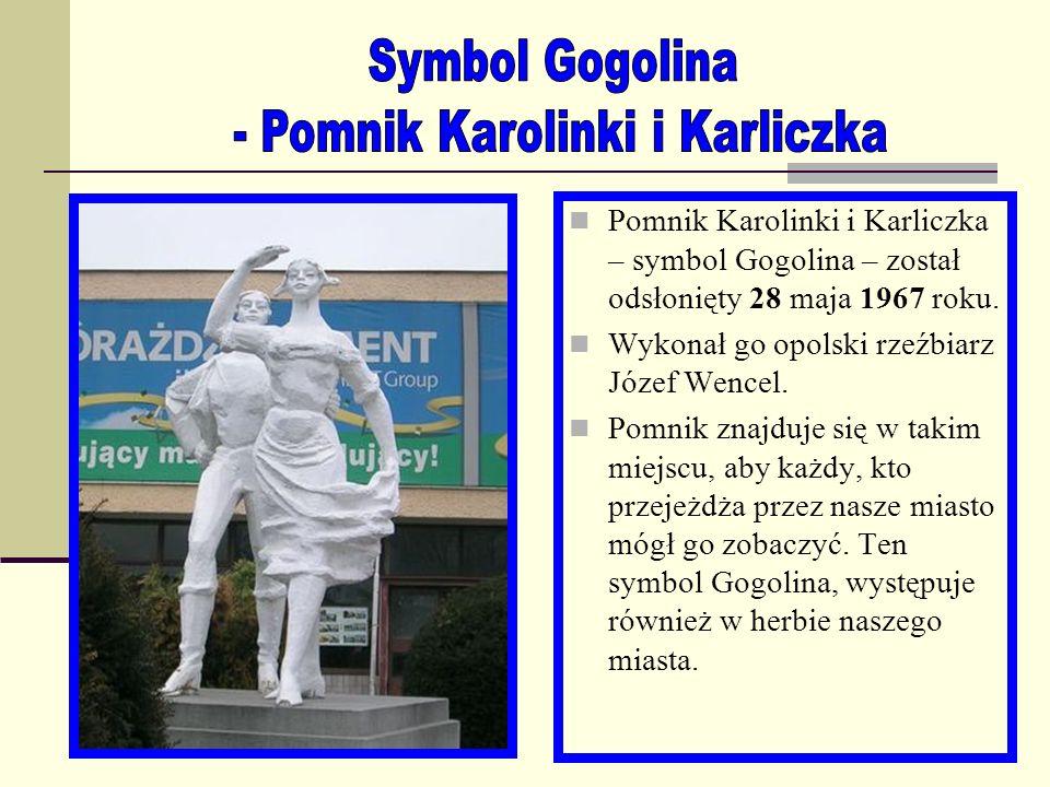 - Pomnik Karolinki i Karliczka