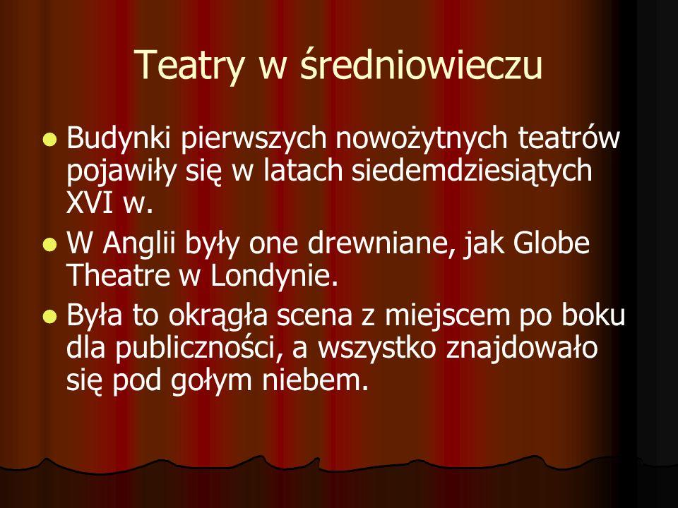 Teatry w średniowieczu