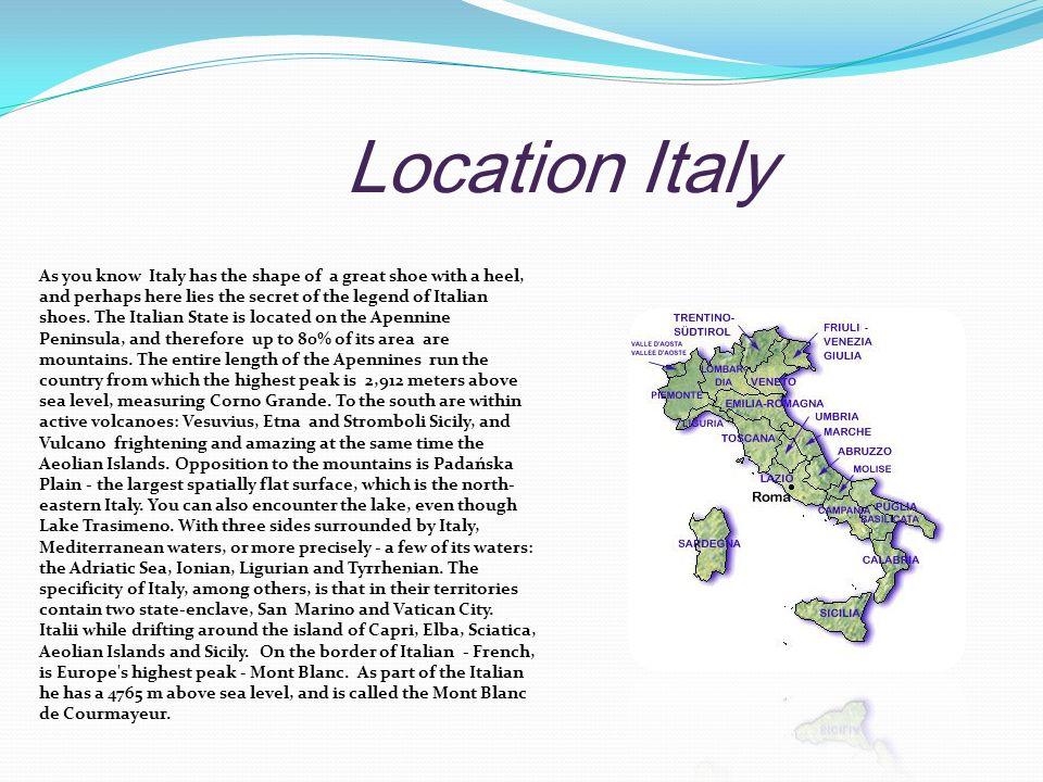 Location Italy