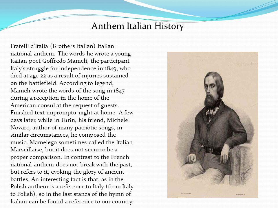 Anthem Italian History