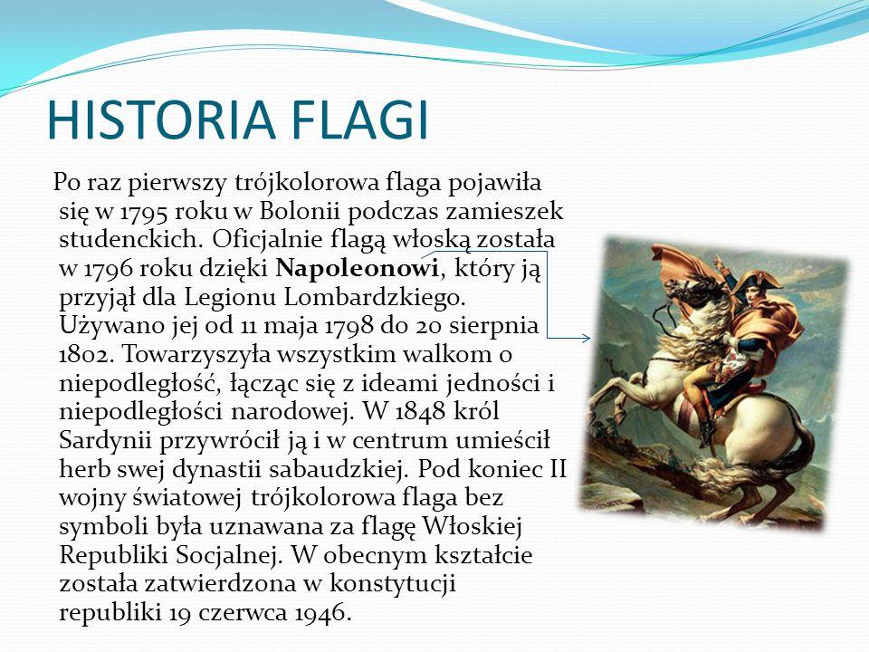 HISTORIA FLAGI