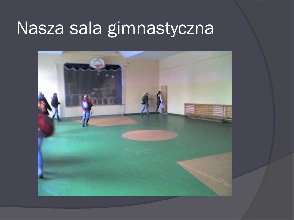 Nasza sala gimnastyczna