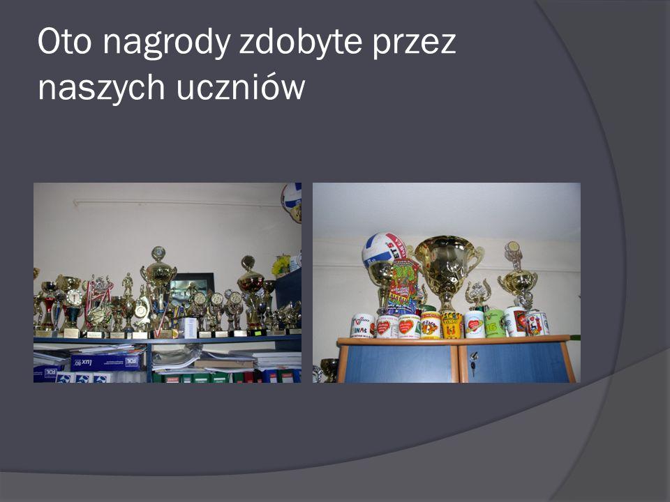 Oto nagrody zdobyte przez naszych uczniów