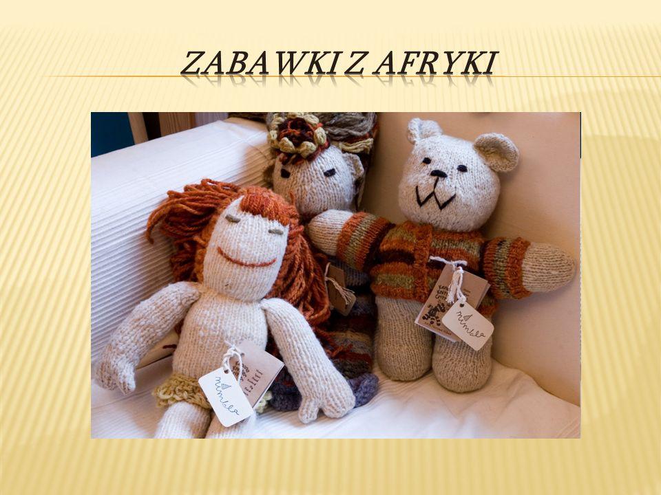 Zabawki z Afryki