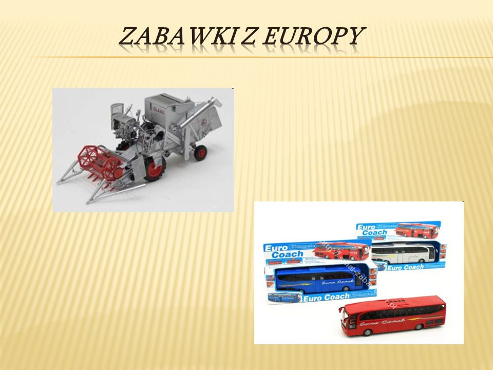 Zabawki z Europy
