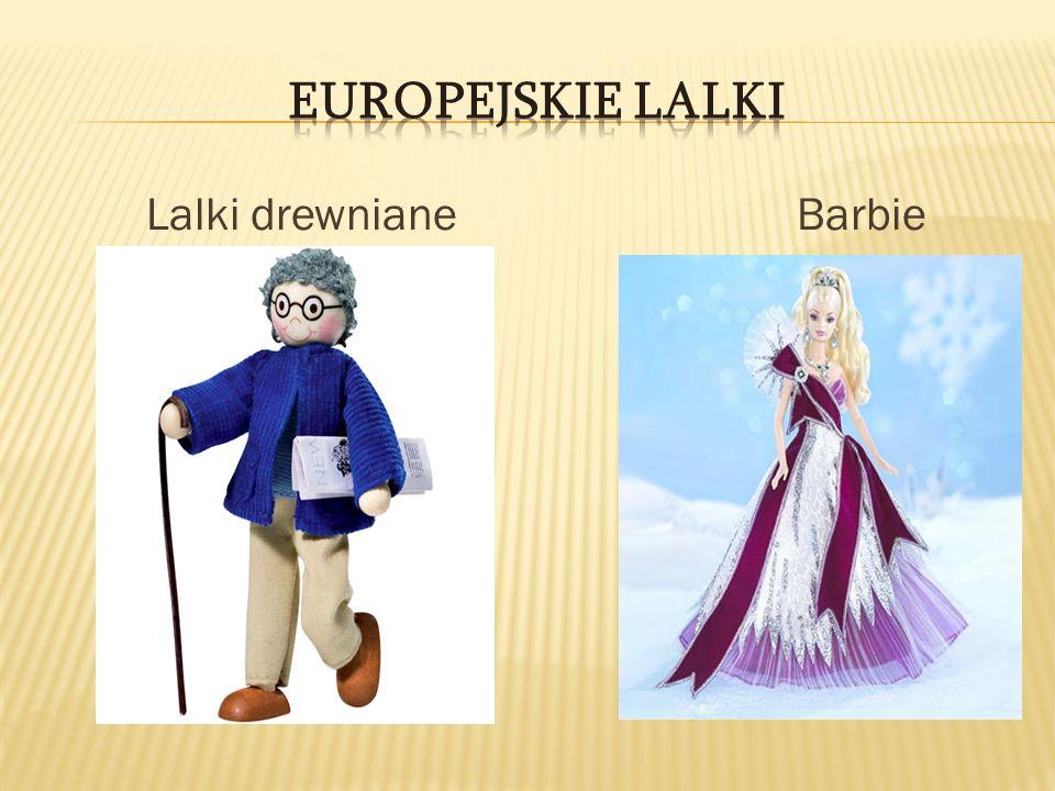 Lalki drewniane Barbie