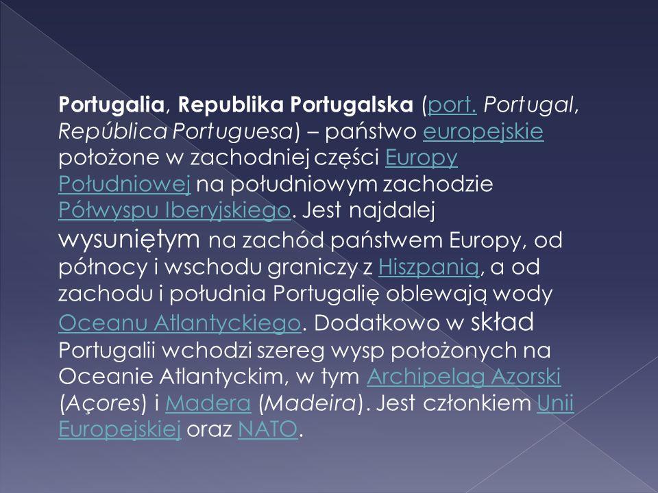 Portugalia, Republika Portugalska (port