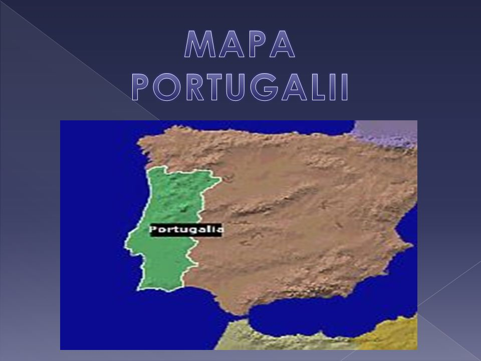 MAPA PORTUGALII
