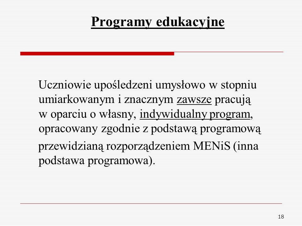Programy edukacyjne