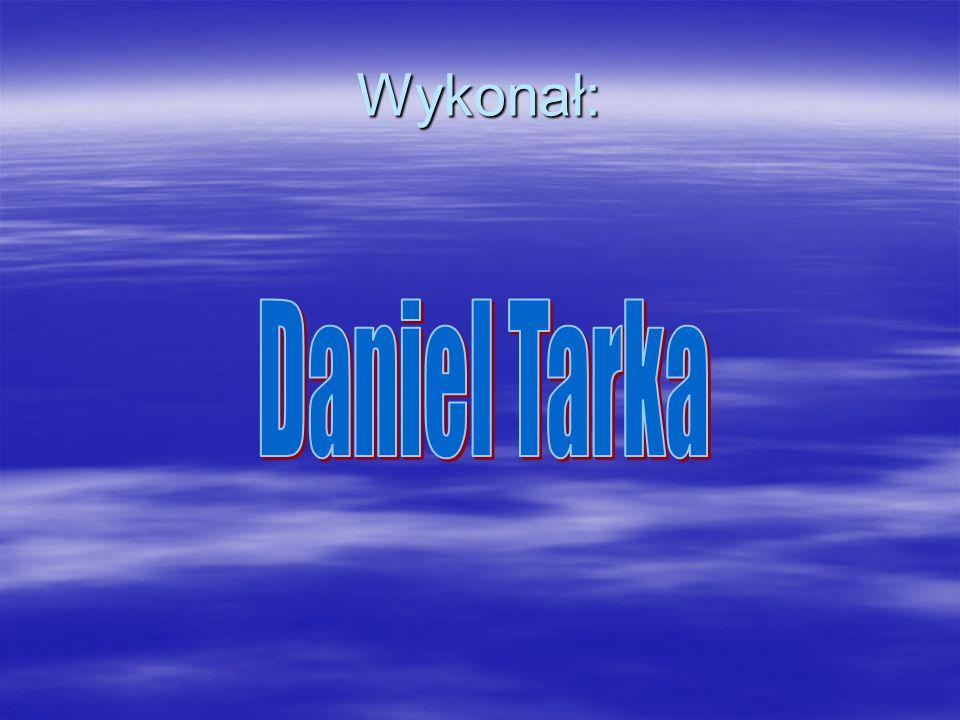Wykonał: Daniel Tarka