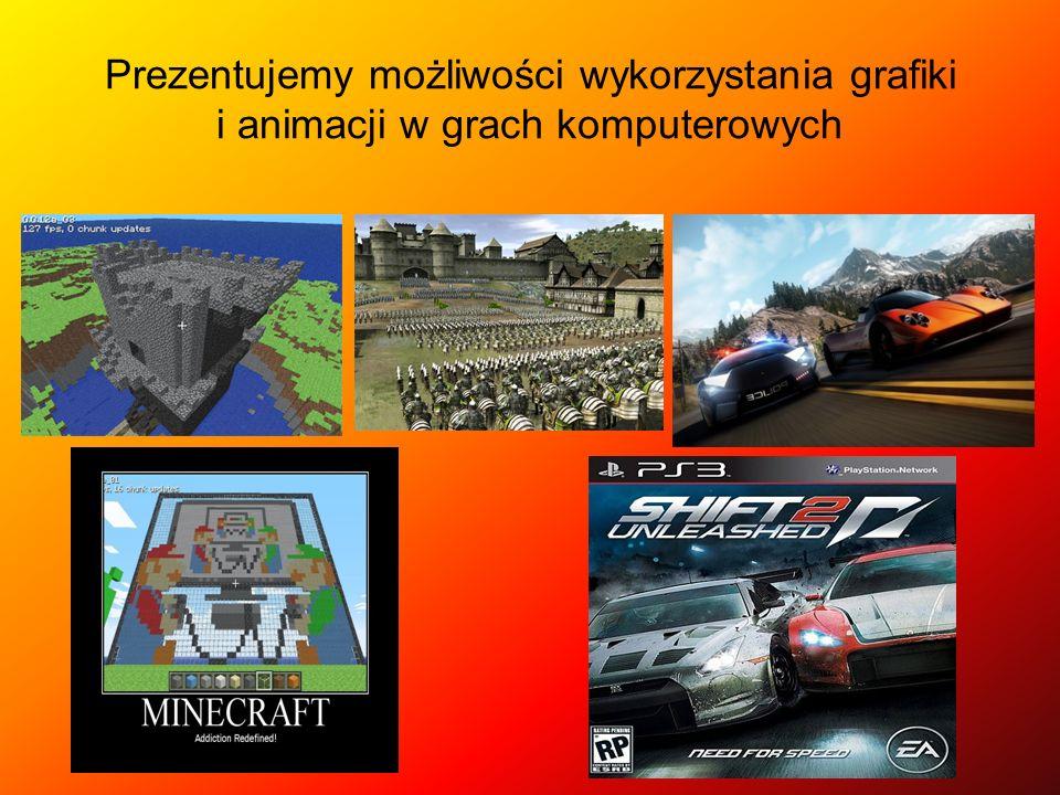 Prezentujemy możliwości wykorzystania grafiki i animacji w grach komputerowych