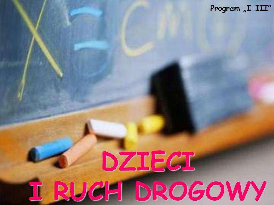 """Program """"IIII DZIECI I RUCH DROGOWY"""