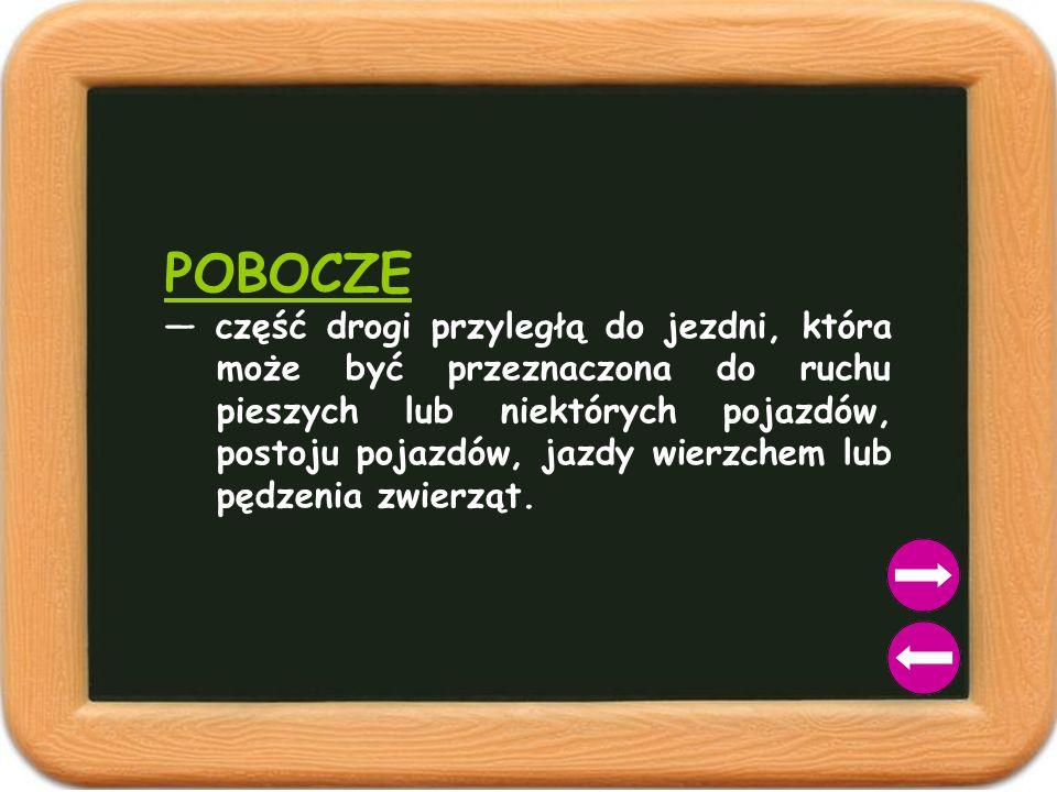 POBOCZE