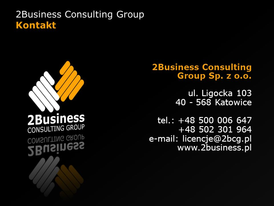 2Business Consulting Group Kontakt