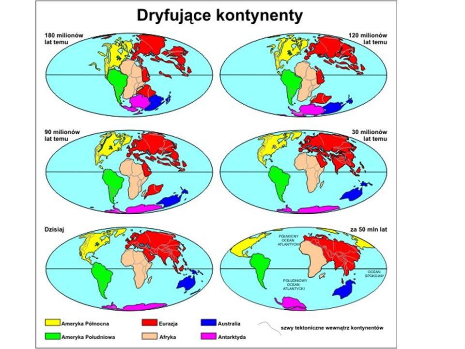 Około 200 milionów lat temu na Ziemi istniał tylko jeden superkontynet Pangea.