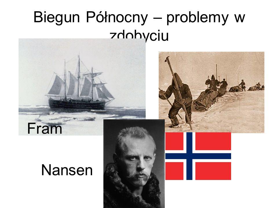 Biegun Północny – problemy w zdobyciu
