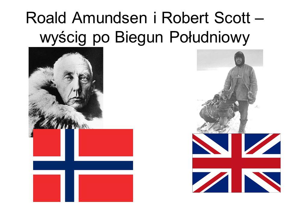 Roald Amundsen i Robert Scott – wyścig po Biegun Południowy