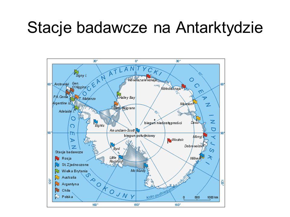 Stacje badawcze na Antarktydzie