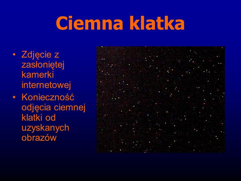 Ciemna klatka Zdjęcie z zasłoniętej kamerki internetowej