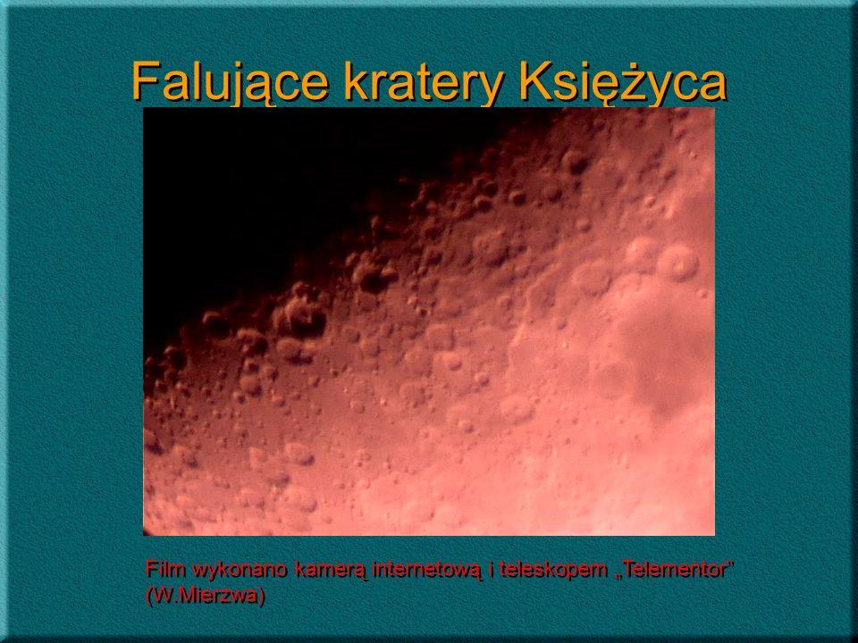 Falujące kratery Księżyca