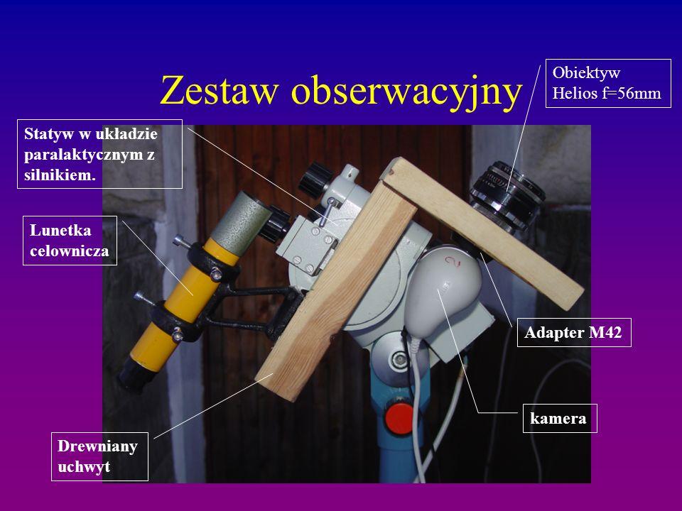 Zestaw obserwacyjny Obiektyw Helios f=56mm