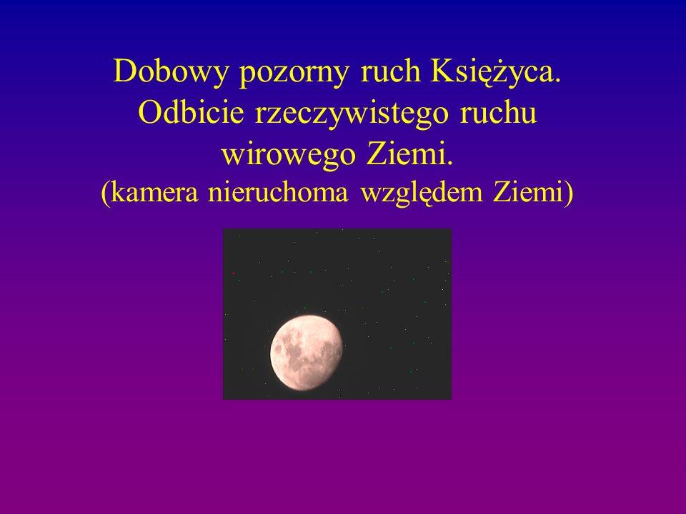 Dobowy pozorny ruch Księżyca