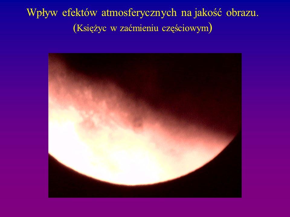 Wpływ efektów atmosferycznych na jakość obrazu