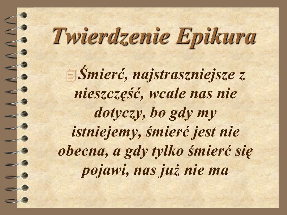 Twierdzenie Epikura