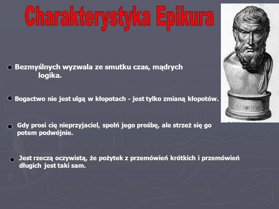 Charakterystyka Epikura