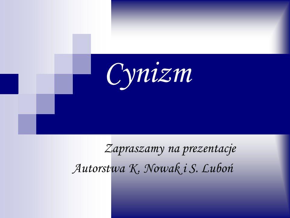Zapraszamy na prezentacje Autorstwa K. Nowak i S. Luboń