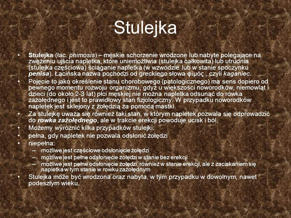 Stulejka