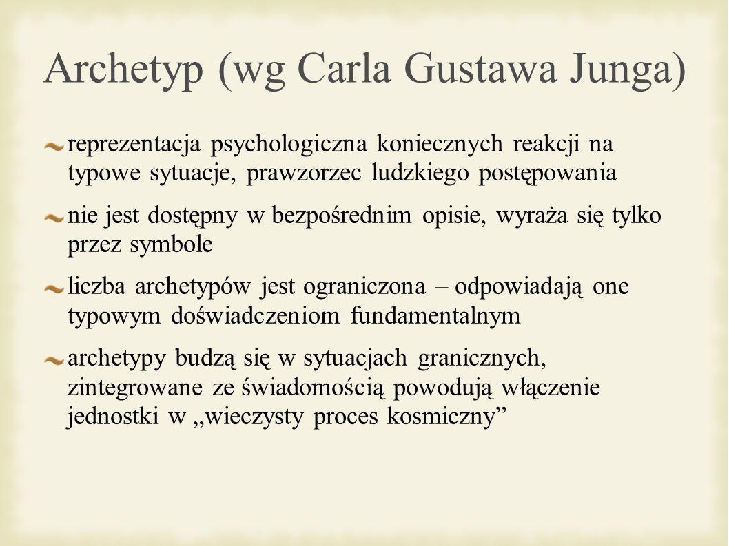 Archetyp (wg Carla Gustawa Junga)
