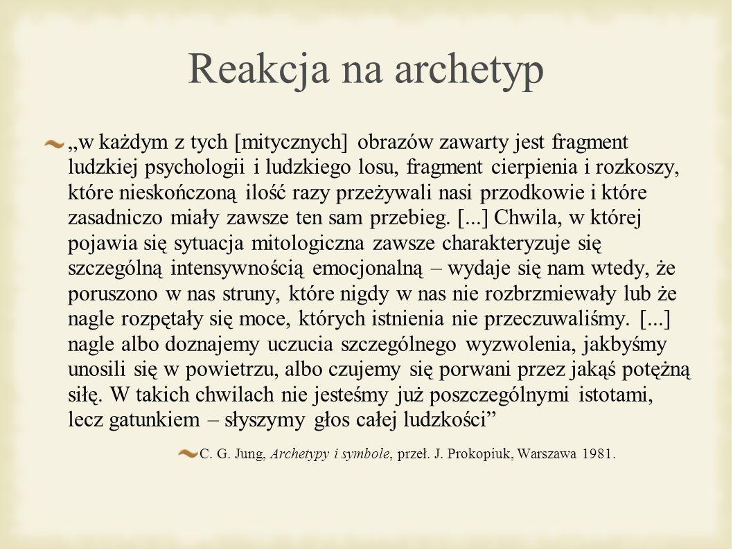 Reakcja na archetyp
