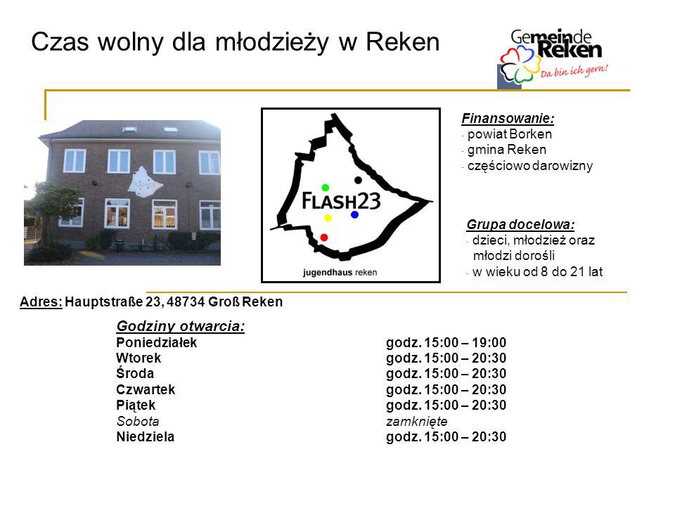 Czas wolny dla młodzieży w Reken