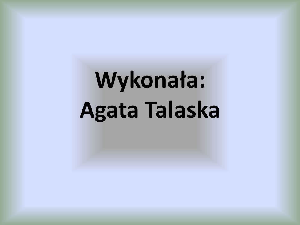 Wykonała: Agata Talaska