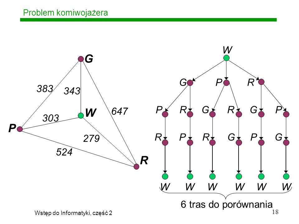Wstęp do Informatyki, część 2