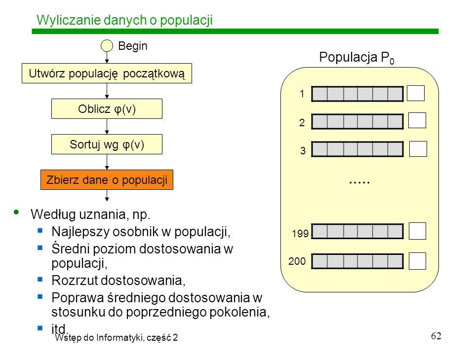 Wyliczanie danych o populacji