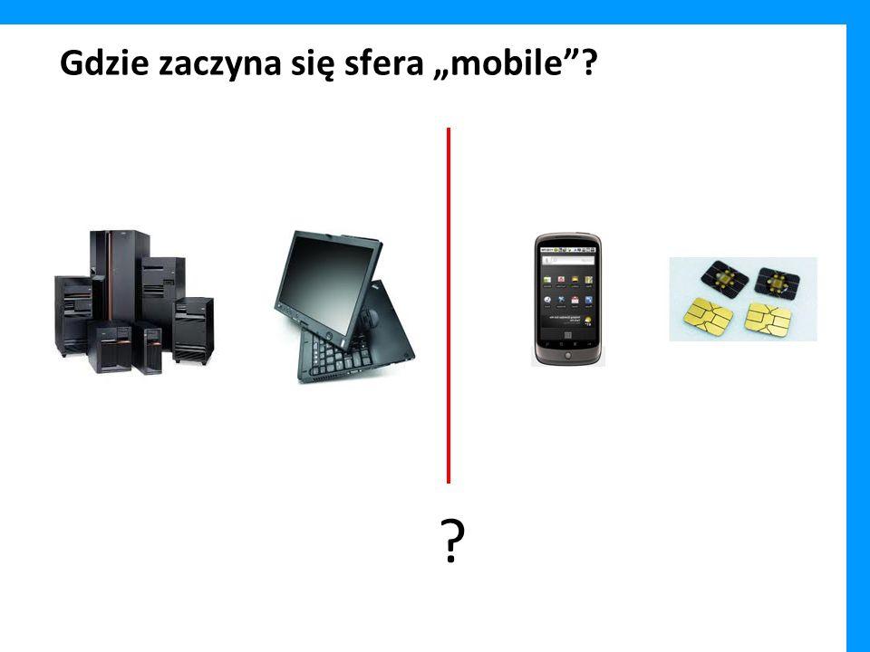 """Gdzie zaczyna się sfera """"mobile"""