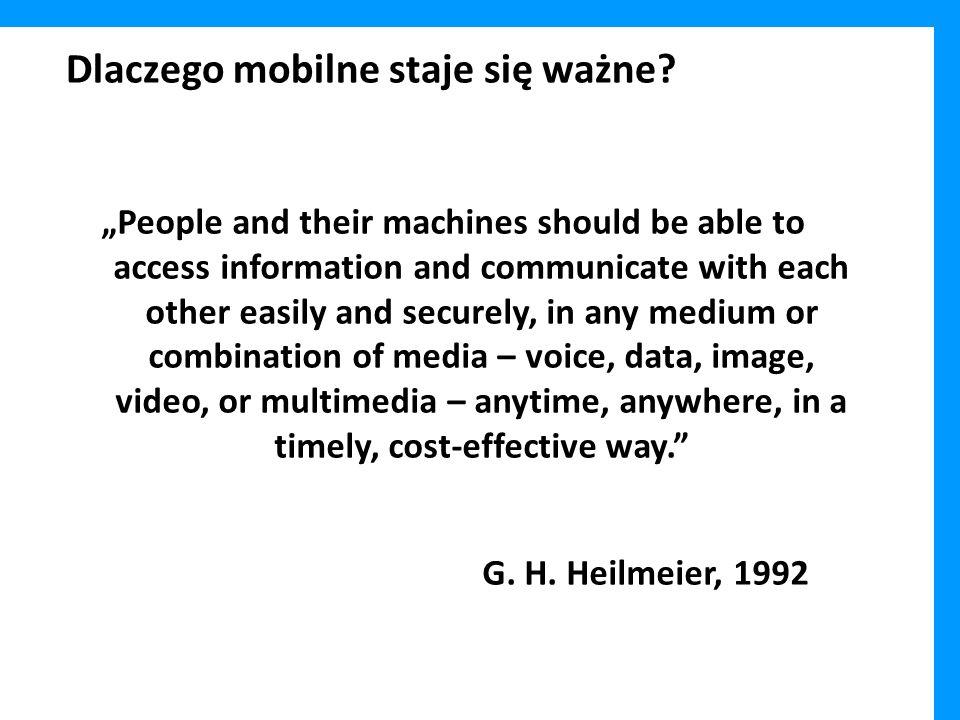 Dlaczego mobilne staje się ważne