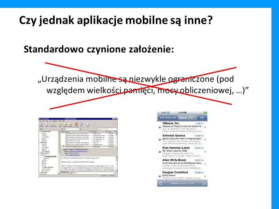 Czy jednak aplikacje mobilne są inne
