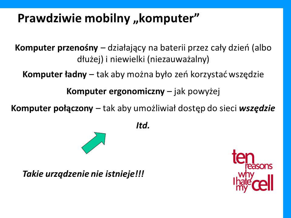 """Prawdziwie mobilny """"komputer"""