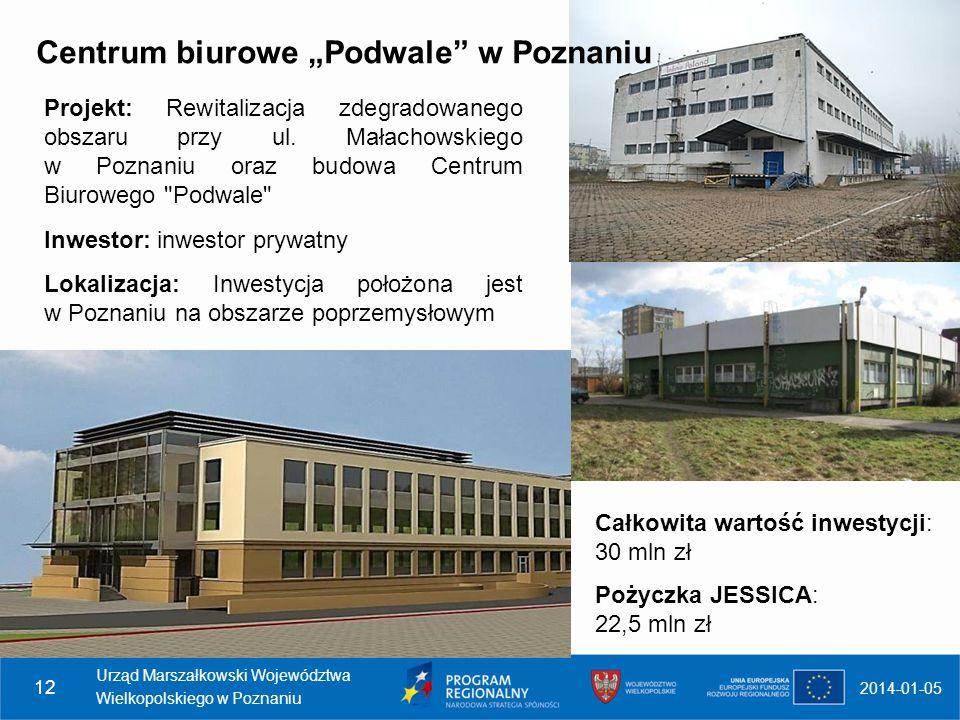 """Centrum biurowe """"Podwale w Poznaniu"""
