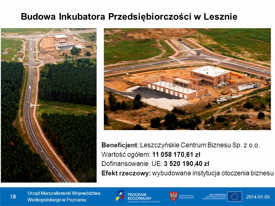 Budowa Inkubatora Przedsiębiorczości w Lesznie