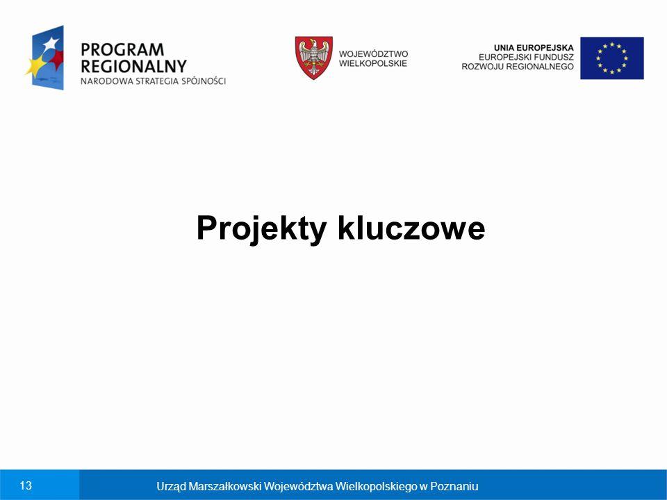 Projekty kluczowe Urząd Marszałkowski Województwa Wielkopolskiego w Poznaniu