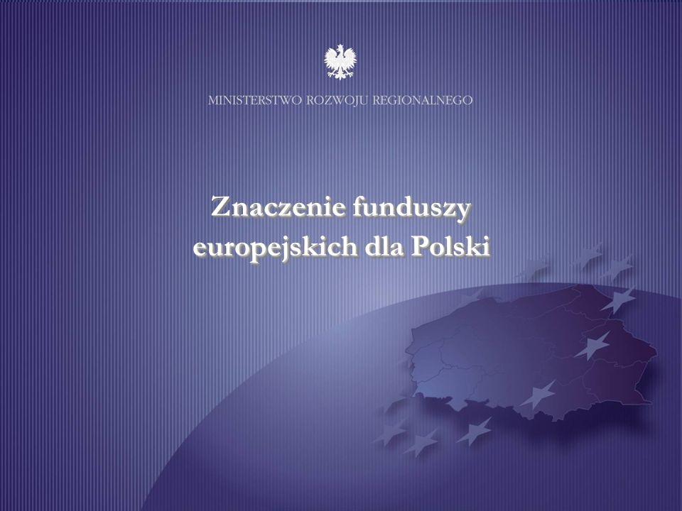 Znaczenie funduszy europejskich dla Polski