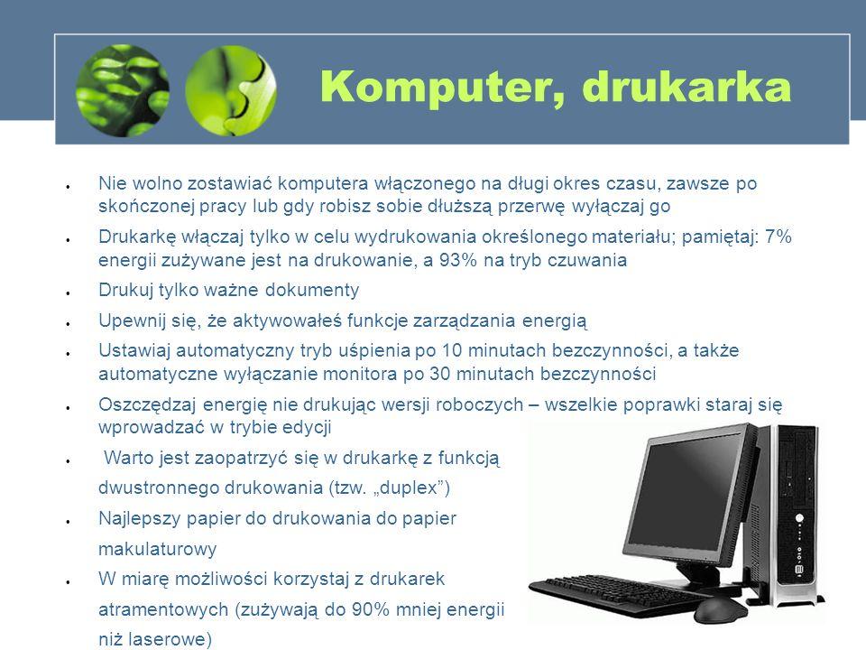 3838 Komputer, drukarka.